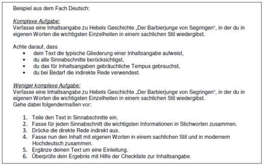 Komplexitat Der Aufgabenstellung Heterogenitat Bildungsserver Rheinland Pfalz